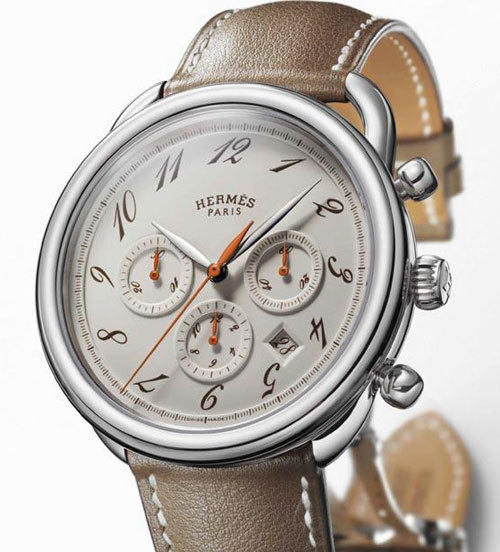 Hermès Arceau chrono Alezan