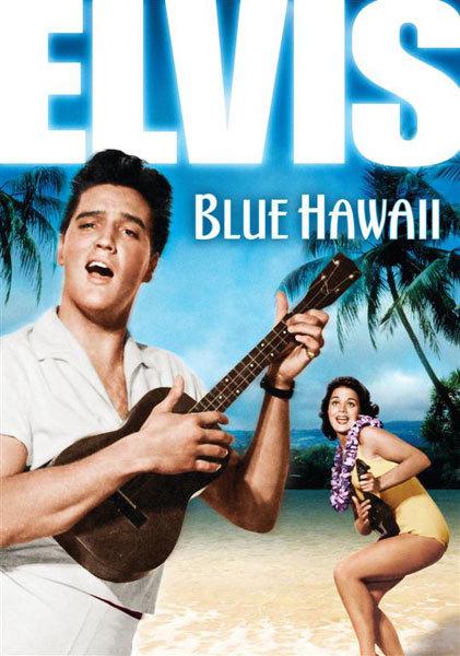 Sous le ciel bleu d'Hawaï : Elvis Presley porte une Hamilton Ventura