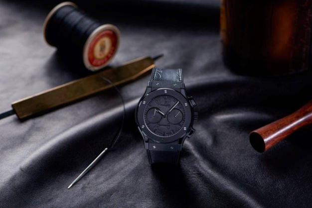 Hublot Classic Fusion Berluti : chrono cuir