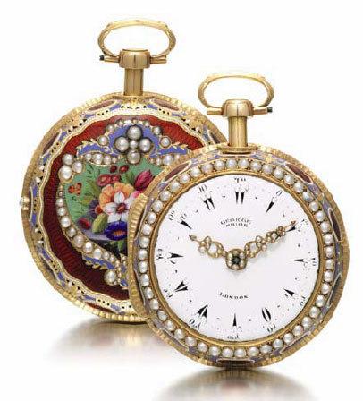 Sotheby's : vente de la montre de Louis II de Bavière