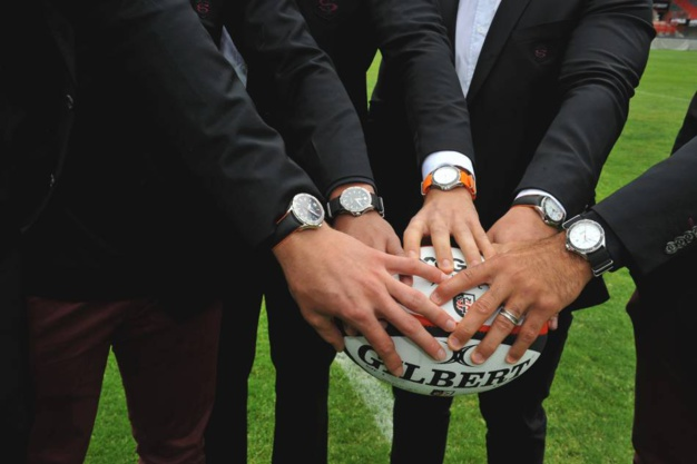 Baume & Mercier : horloger officiel du Stade Toulousain