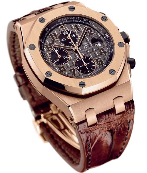 don ramon une royal oak offshore en s rie limit e pour la boutique ap de madrid. Black Bedroom Furniture Sets. Home Design Ideas