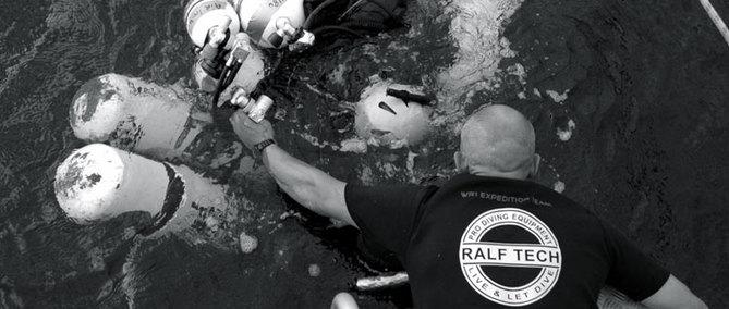 Ralf Tech Watches : quand une montre de plongée est imaginée par un pro de la plongée !