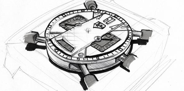 Pour le 40ème anniversaire de la Monaco, TAG Heuer lance le chrono concept Monaco Twenty Four