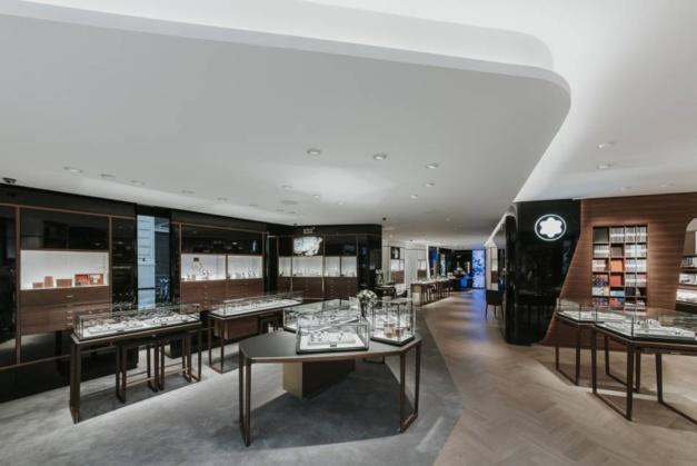 Montblanc : ouverture de son nouveau concept de boutique sur les Champs-Elysées