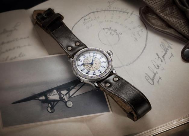 20 mai 1927 : Longines chronométrait la traversée de l'Atlantique de Lindbergh