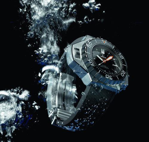 Omega : une exposition de montres de plongée historiques à la boutique des Champs-Elysées