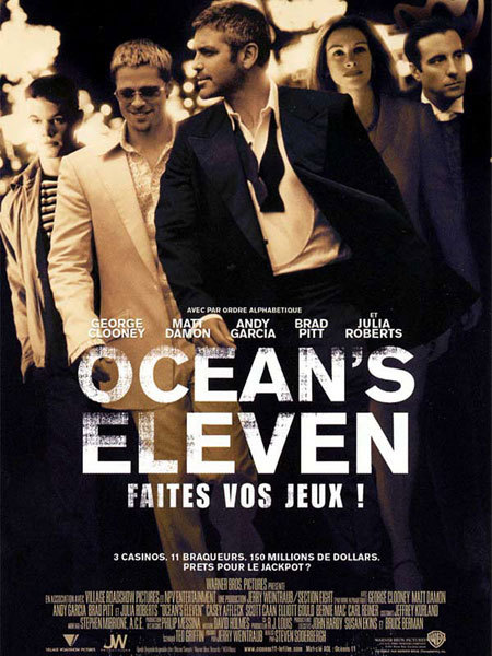 Ocean's Eleven, DR