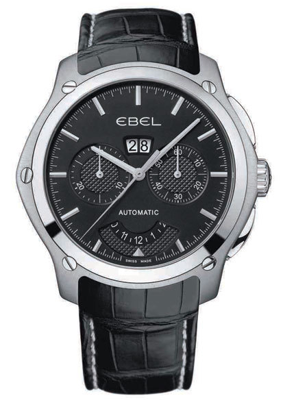 Ebel Classic Hexagon : la collection se dote d'un chrono de 48.3 mm