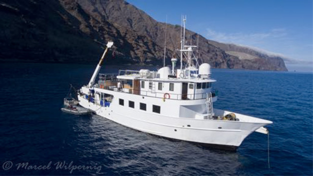 Clipperton : Oris en mission scientifique dans le Pacifique