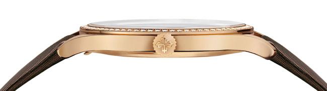 Patek Philippe Calatrava Réf. 4897R : une déclinaison en or rose ultra-féminine
