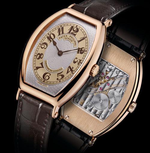 Chronometro Gondolo Patek Philippe: de l'or rose pour un modèle d'inspiration Art deco