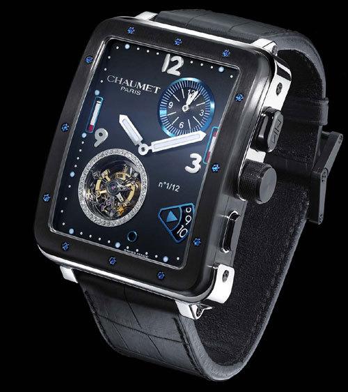 Chaumet édite l'une des créations du designer horloger Marc Alfieri