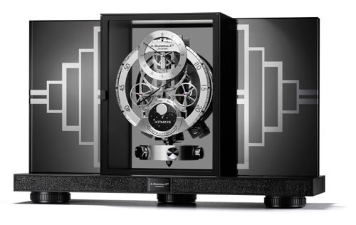 Une Atmos Regulator Jaeger-LeCoultre pour Alfred Dunhill