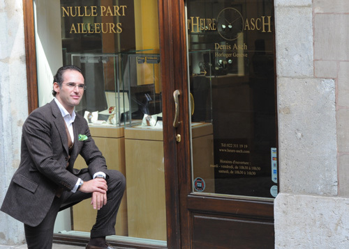 Révolution GMT et Dual Time Vulcain : présentation de Denis Asch du magasin L'Heure AscH