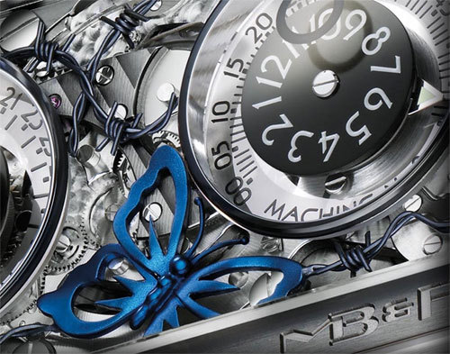 Horological Machine n°2 Only Watch 2009 : une pièce unique en collaboration avec Sage Vaughn