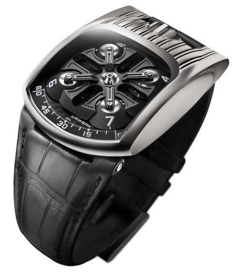 Urwerk UR103T : attention OVNI horloger en or massif : une très belle réussite !