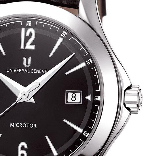 Microtor UG 101 : un cadran laqué pour la nouvelle Universal Genève