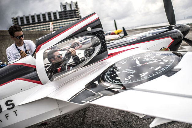 Alpina : sponsor de l'équipe Michael Goulian au Red Bull Air Race World Championship