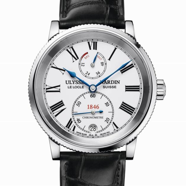 Ulysse Nardin Marine 1846 : un chronomètre manuf' à moins de 10.000 euros