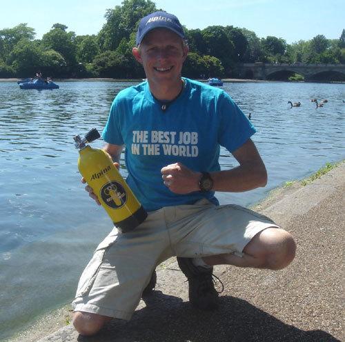 Ben Southall : le gagnant du « Meilleur job du monde » porte une Alpina