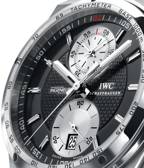 La Big Ingenieur Chronographe d'IWC : une montre robuste et sportive pour relever les défis de la nature