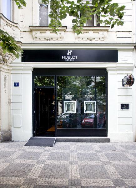 Hublot ouvre une boutique à Prague
