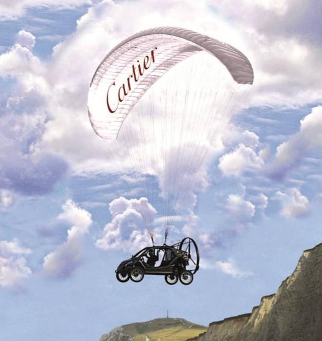 Pégase : Cartier soutient le projet de la voiture volante entre Paris et Londres