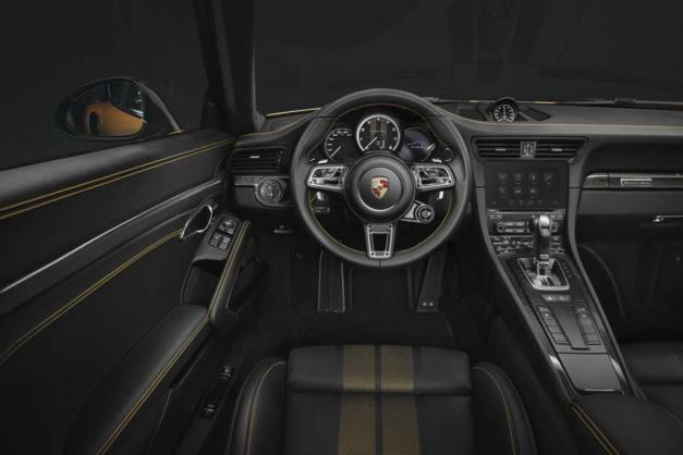 Un chrono Porsche Design réservé aux acquéreurs de la Porsche 911 Turbo S Exclusive Series
