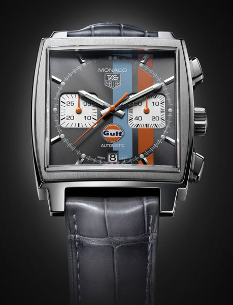Chronographe Monaco Calibre 12 Gulf Limited edition