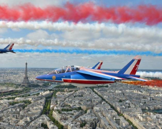 Breitling : montre officielle de la Patrouille de France