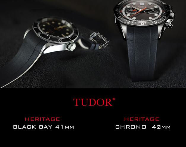 RubberB : nouveaux straps pour les modèles Heritage