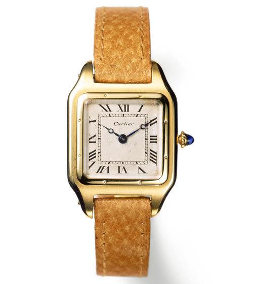 Montre-bracelet Santos Cartier Paris, 1915 / Photo : Nick Welsh, Collection Cartier © Cartier