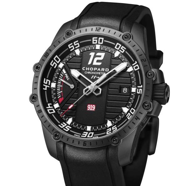 Chopard Superfast Power Control Porsche 919 HF : une montre qui pulse