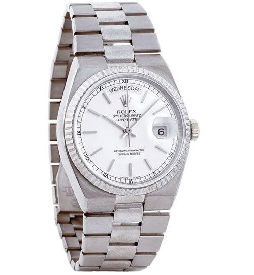 Rolex  Oysterquartz : l'une des stars des années 70