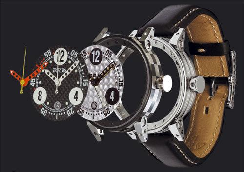 Avec BRM, personnalisez votre montre sur le web...