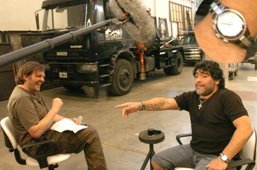 Maradona par Kusturica copyright Juan José Traverso