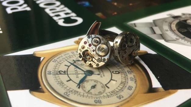 Kronokeeper : une Rolex au poignet... en bouton de manchette