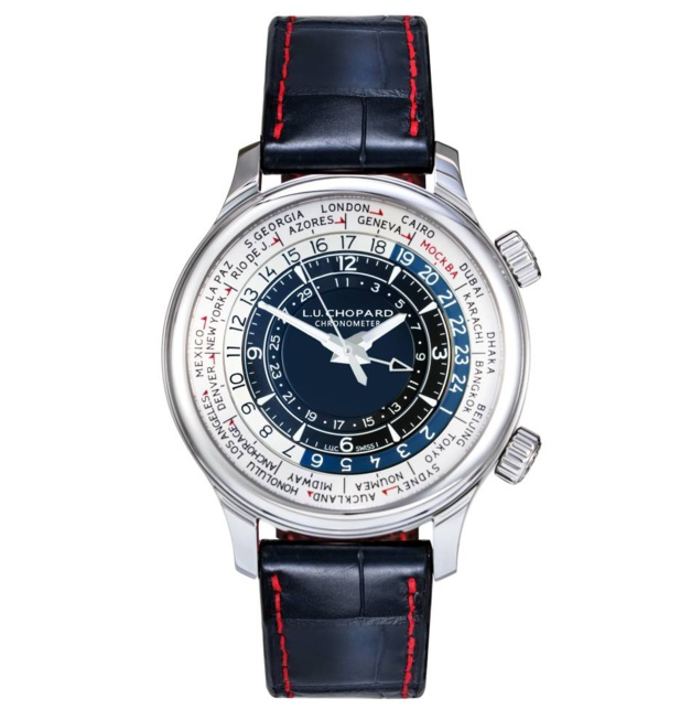Chopard L.U.C. Time Traveller One Moscou : un worldtime pour la Russie