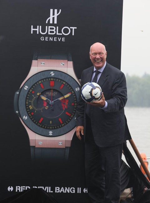 Hublot, la Chine, les Red Devils et la nouvelle Big Bang « Red Devil 2 »