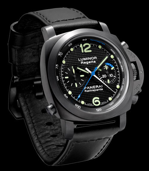 Panerai Luminor 1950 Regatta Rattrapante 44 mm DLC