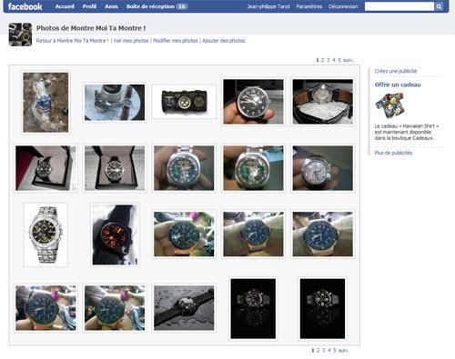 Montre moi ta montre : un groupe incontournable sur Facebook