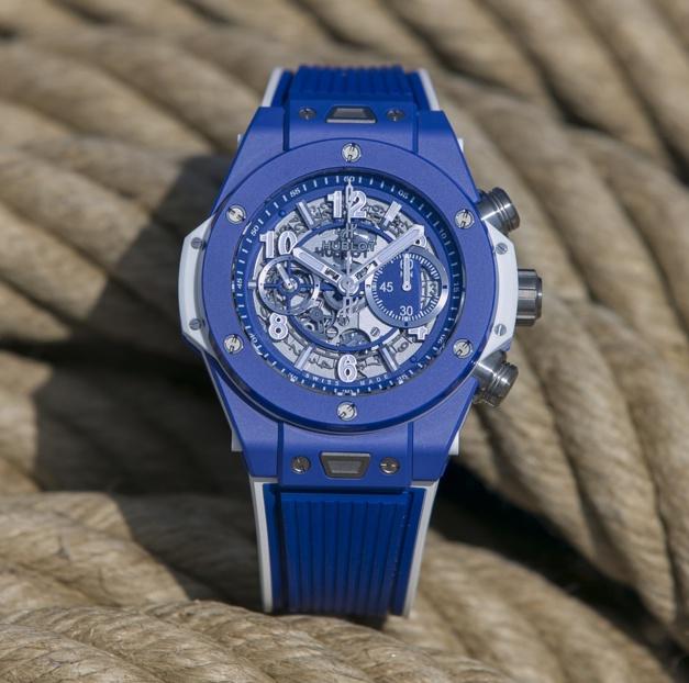 Hublot : cent Big Bang Blue pour l'ouverture de sa boutique cannoise