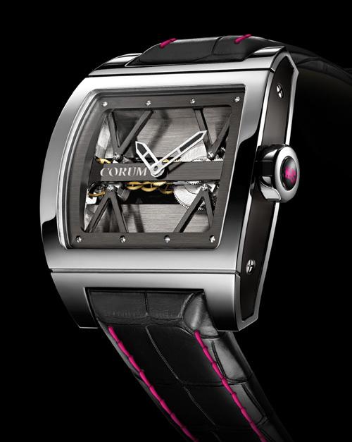 Corum présente son modèle Ti-Bridge Only Watch 2009