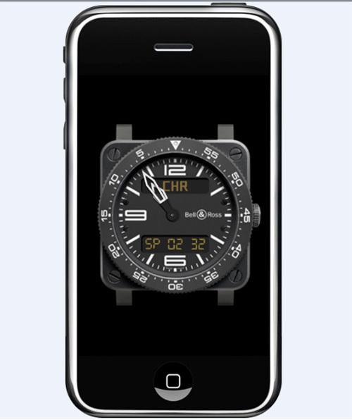 Bell & Ross lance une nouvelle version de son application pour iPhone