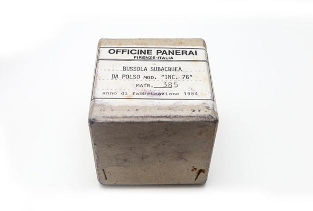 Old-time-heure : une rare boussole Panerai de 1984