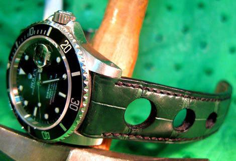 Quand une « simple » couture suffit à personnaliser votre bracelet-montre… La chronique de l'Atelier du Bracelet Parisien