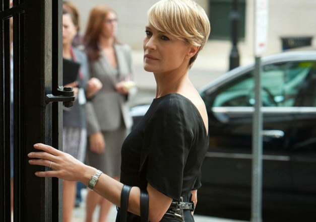 Robin Wright House of Cards, Tank française Cartier