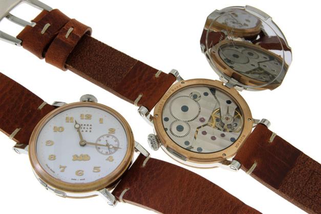 Terra Cielo Mare Toponi : montre d'état-major... décalée