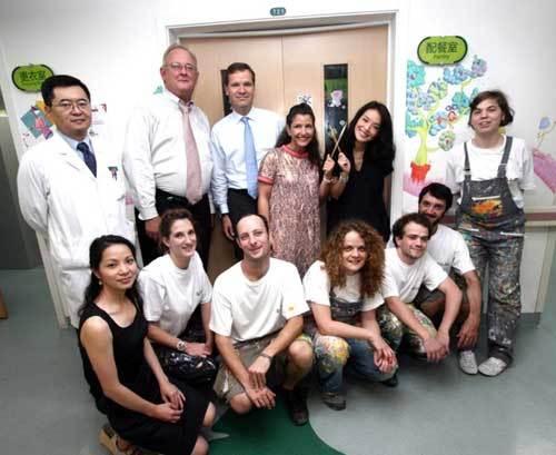 Paint a Smile : Frédérique Constant aide l'hôpital pour enfants de Beijing
